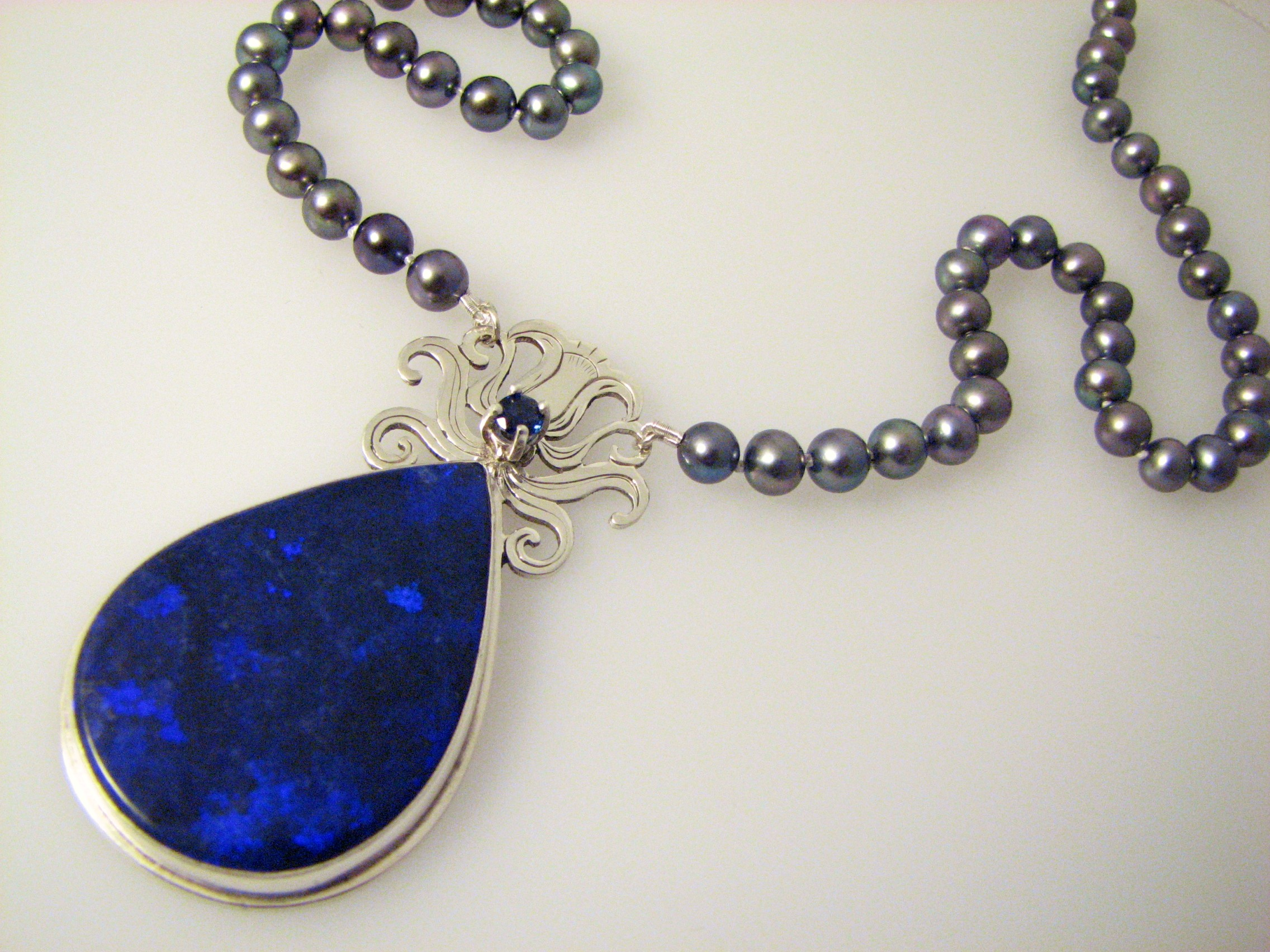 The Pendant Is Inspired By Moonflower A Gorgeous Night Blooming Flower Related To Morning Glory