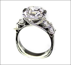 Asscher Cut Diamond Design