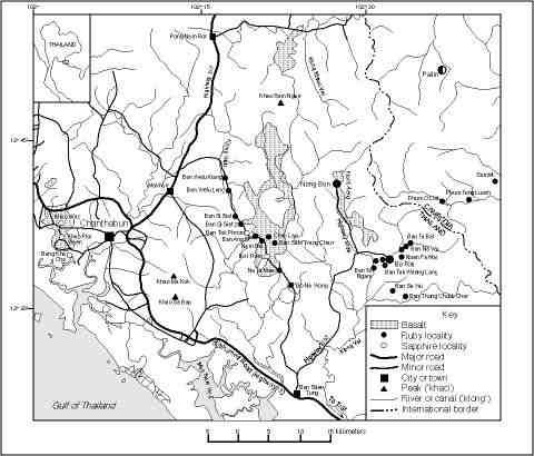 Chanthaburi Map