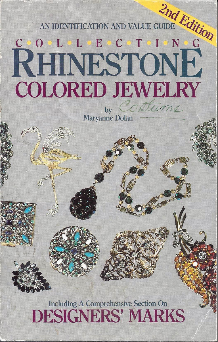 Book Review Collecting Rhinestone Colored Stone Jewelry