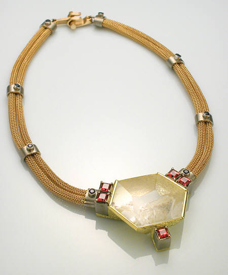 Reflecting Pond Necklace by Michael David Sturlin