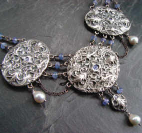Victorian Ballgown Necklace - The Art of Self Promotion
