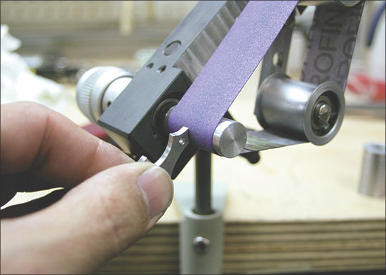 Pat Pruitt S Wolf Belt Sander Ganoksin Jewelry Making