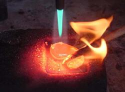 Alloying 22KT Gold for Granulation
