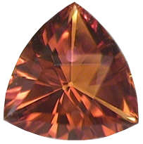 Citrine, Trillion, 6.46 carats, Brazil - Evaluating Gem Quality and Prices