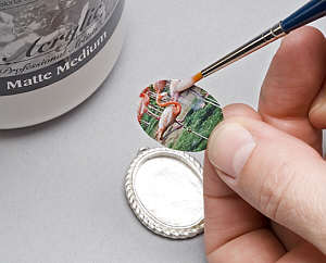3 ways to use 2 part epoxy resins ganoksin jewelry for What kind of glue to use for jewelry