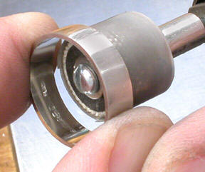 Finishing the Inside of a Platinum Ring