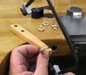 Ring Sawing Bench Pin