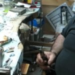 Heating a graver