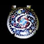 Jewellery Making Granulated Cloisonn Enamel Rock Crystal