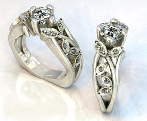 Palladium Bridal Jewelry