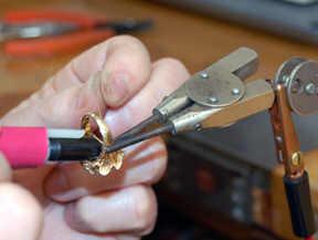 welding thin shank