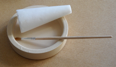 Borax Cone and Dish for making Flux to solder