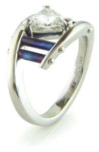 Creating Colorful Jewelry Designs by Anodizing Titanium and Niobium