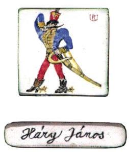 Miniature 6, 2007, enamel on copper, 3 x 3 cm