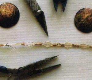 Pre-formed wire bezel