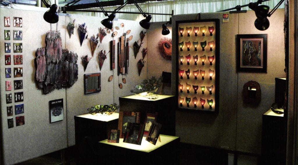 My booth from a 2005 show