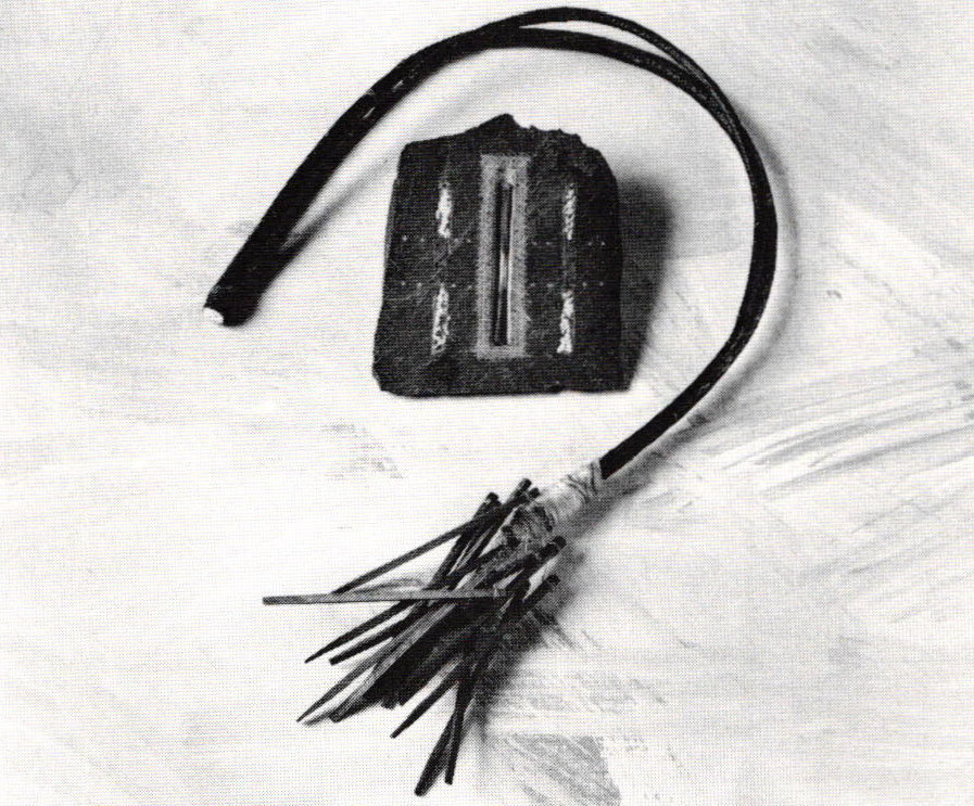 Jewellery in Transition - James Evans, Slate piece