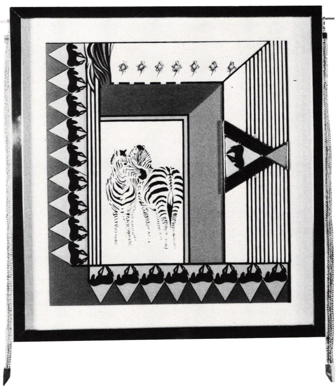 The Zebras Rose - Natalie Paul Exhibition