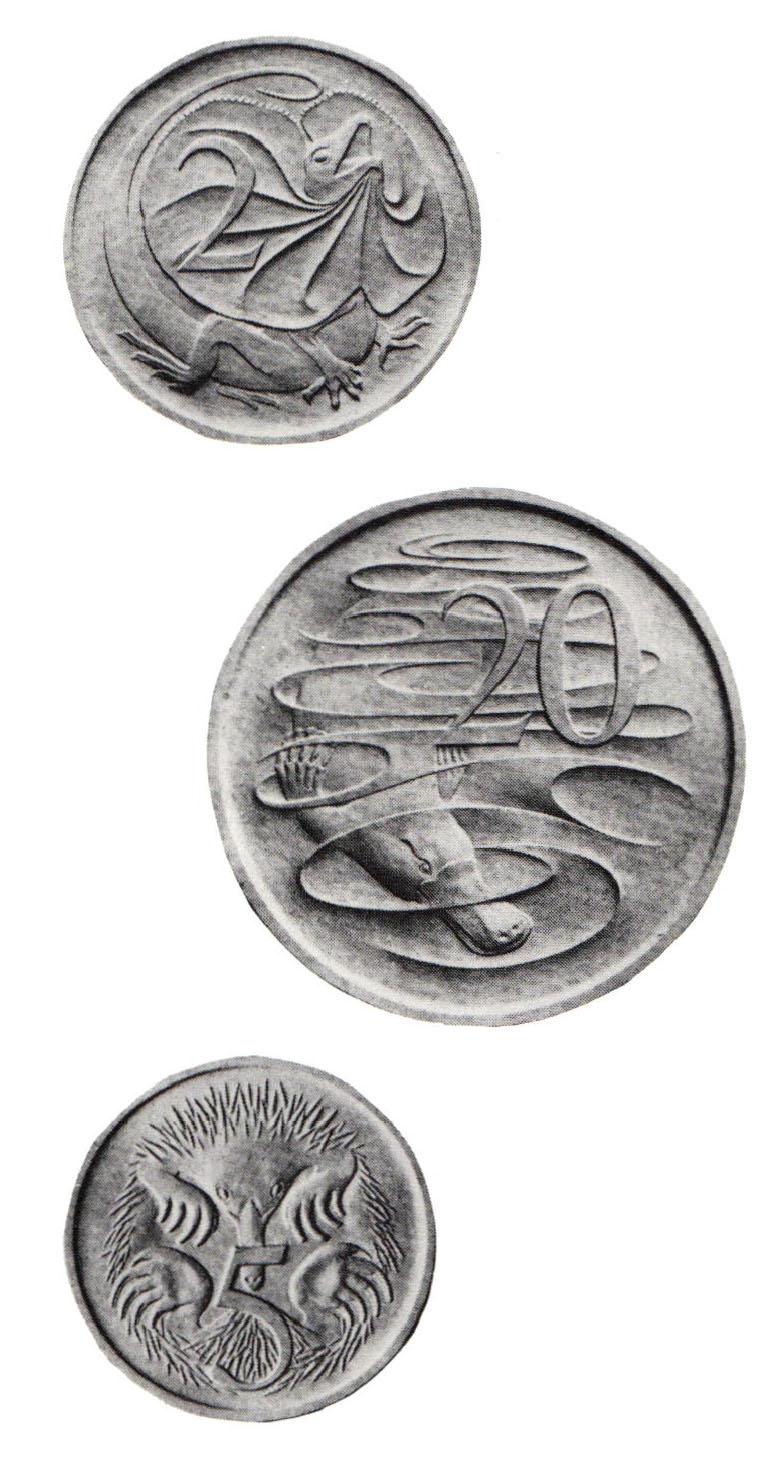 Stuart Devlin, Plaster models for Australian coins