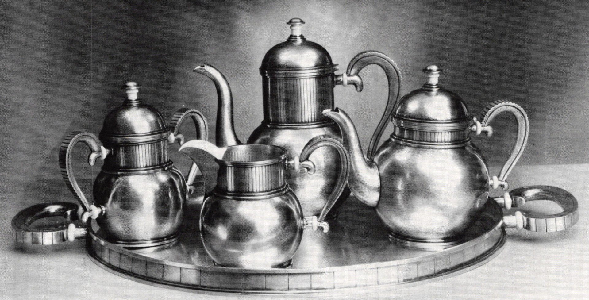 Tea and Coffee Service - Gorham Masterpieces in Metal