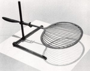 Towards a New Iron Age Exhibition - Jan Dudesek (Switzerland) Griddle with Stand, 1980
