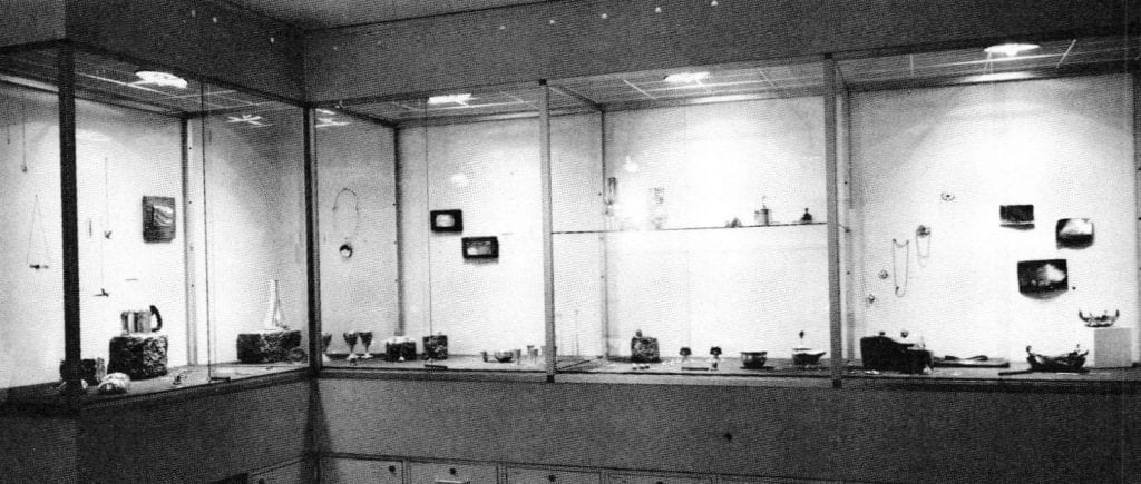 Interior view of the Metallum Gallery