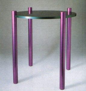 Aluminum Anodizing - Side Table