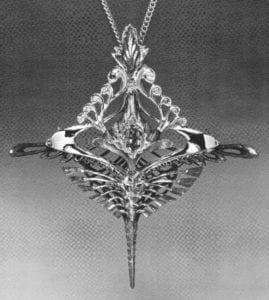 Bi-Metal Casting to Titanium - Mark Baldridge, Pendant