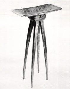 Damascus and Pattern Welding - David Secrest, Dish on Legs