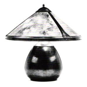 Dirk Van Erp Studio, Lamp