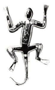 Charles Loloma: Lizard Pin