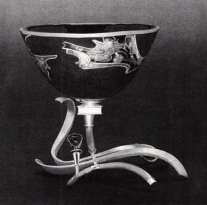 10th International Biennel of Enamel - James Carter, Cup