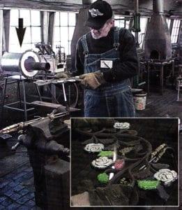 Blacksmith Enameling