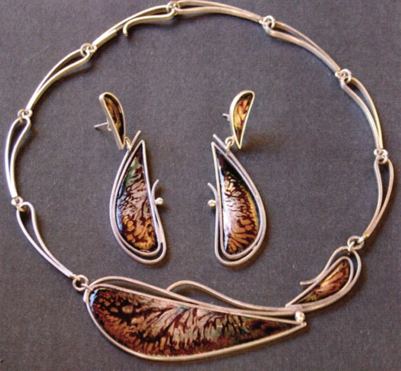 Cloisonne jewelry - beautifulearthja.com