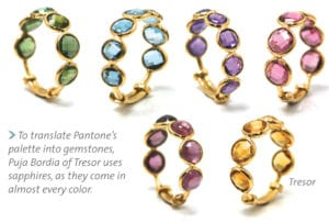 From Pantone's palette to gemstones
