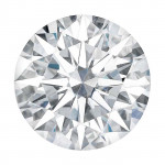 Charles & Colvard® Forever One® Moissanite 6.5mm Round Faceted Stone