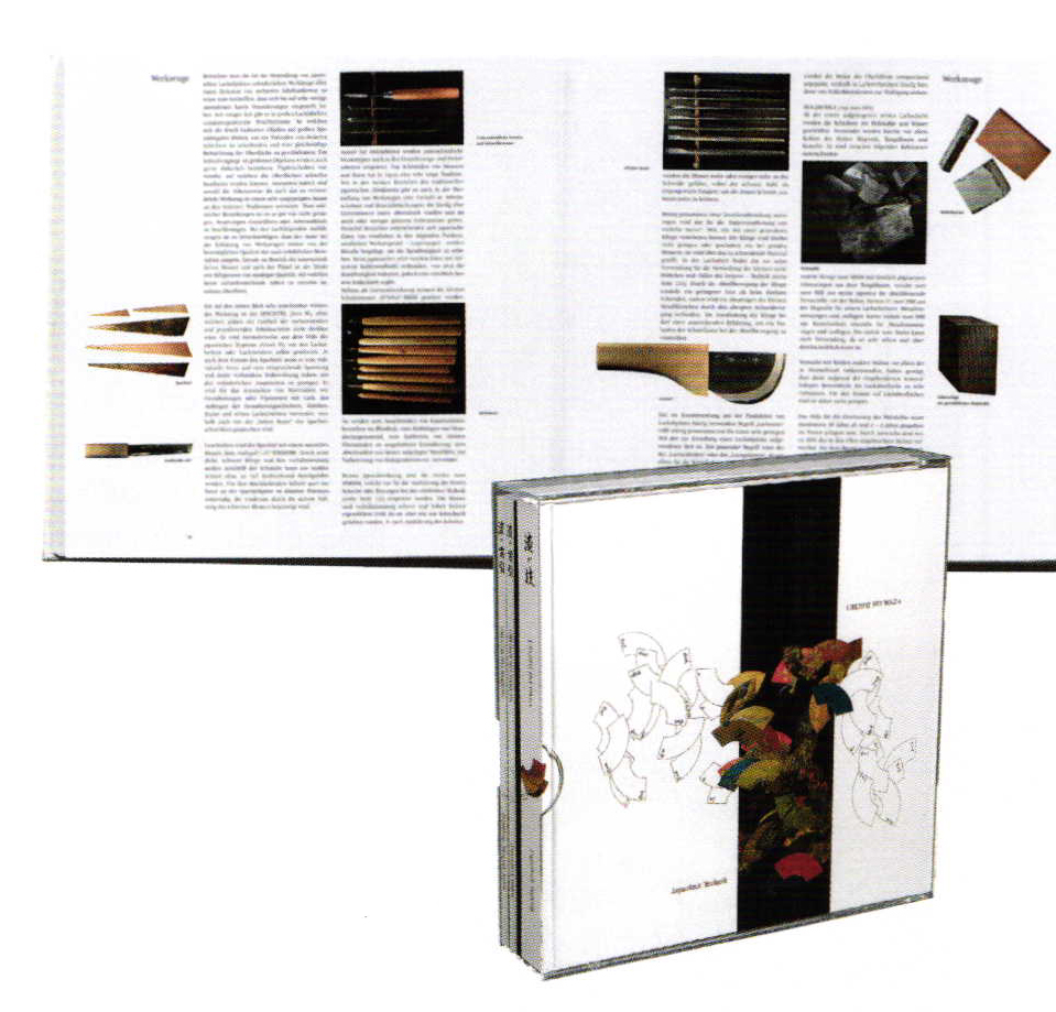 Urushi Set, Günther Heckmann, German Or English, Hardcover In Pear Wood Box  (limited Edition), 585 Euros, Or Paperback, 78 Euros, Over 700 Pages, ...