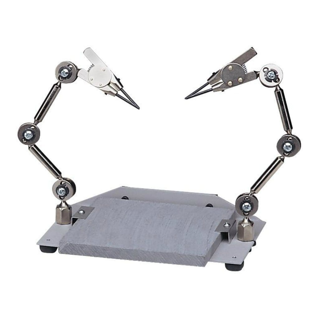 Soldering Assistant Machine Third Hand Tool with 6PCs Arms Soldering Assembly